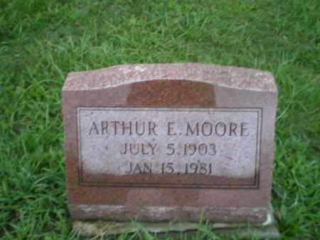 MOORE, ARTHUR E - Jefferson County, Ohio | ARTHUR E MOORE - Ohio Gravestone Photos
