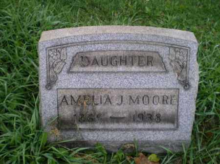 MOORE, AMELIA J - Jefferson County, Ohio | AMELIA J MOORE - Ohio Gravestone Photos