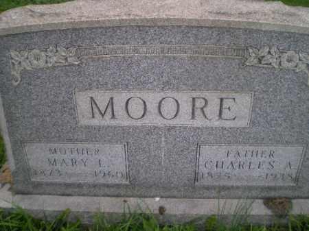PARKS MOORE, MARY L - Jefferson County, Ohio | MARY L PARKS MOORE - Ohio Gravestone Photos