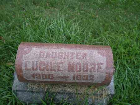MOORE, LUCILE - Jefferson County, Ohio | LUCILE MOORE - Ohio Gravestone Photos