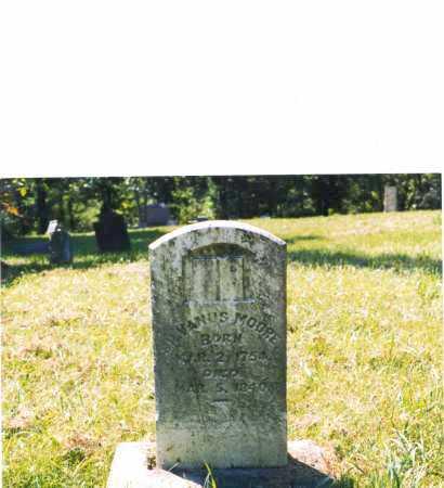 MOORE, SILVANUS - Jefferson County, Ohio | SILVANUS MOORE - Ohio Gravestone Photos