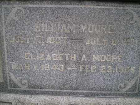 MOORE, WILLIAM - Jefferson County, Ohio | WILLIAM MOORE - Ohio Gravestone Photos