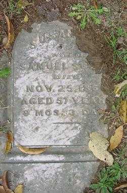 MORRISON, SUSANNAH - Jefferson County, Ohio | SUSANNAH MORRISON - Ohio Gravestone Photos