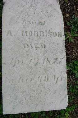 MORRISON, UNKNOWN - Jefferson County, Ohio | UNKNOWN MORRISON - Ohio Gravestone Photos