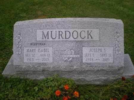 MURDOCK, MARY ISABELLE - Jefferson County, Ohio | MARY ISABELLE MURDOCK - Ohio Gravestone Photos