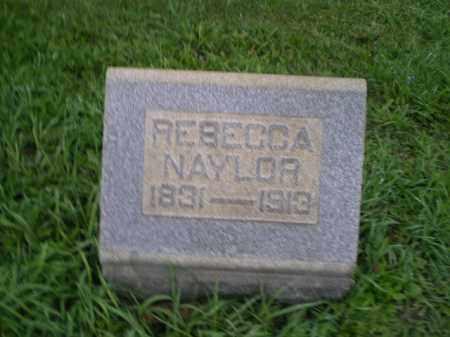 NAYLOR, REBECCA - Jefferson County, Ohio | REBECCA NAYLOR - Ohio Gravestone Photos