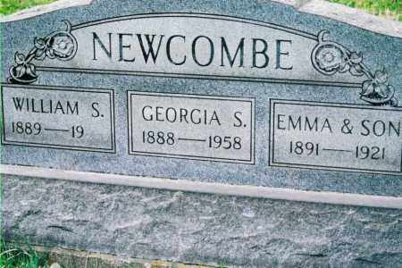 NEWCOMBE, EMMA AND SON - Jefferson County, Ohio | EMMA AND SON NEWCOMBE - Ohio Gravestone Photos