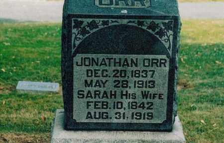 ORR, JONATHAN - Jefferson County, Ohio | JONATHAN ORR - Ohio Gravestone Photos