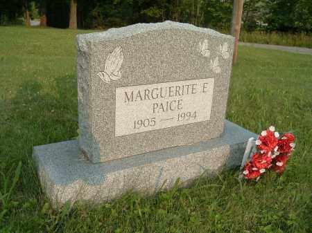 THOMPSON PAICE, MARGUERITE ELIZABETH - Jefferson County, Ohio   MARGUERITE ELIZABETH THOMPSON PAICE - Ohio Gravestone Photos