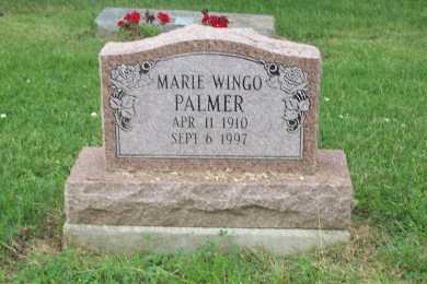 HUGGINS PALMER, MARIE WINGO - Jefferson County, Ohio | MARIE WINGO HUGGINS PALMER - Ohio Gravestone Photos
