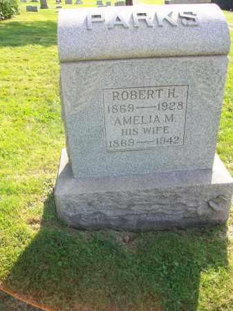 PARKS, AMELIA MARGARET - Jefferson County, Ohio | AMELIA MARGARET PARKS - Ohio Gravestone Photos