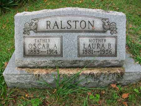 DOBBS RALSTON, LAURA B - Jefferson County, Ohio | LAURA B DOBBS RALSTON - Ohio Gravestone Photos