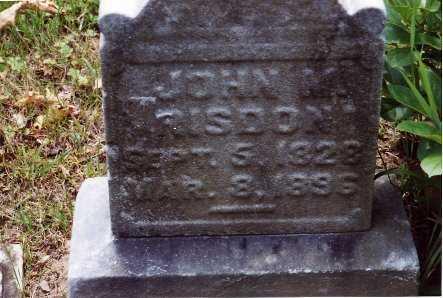 RISDON, JOHN M. - Jefferson County, Ohio | JOHN M. RISDON - Ohio Gravestone Photos