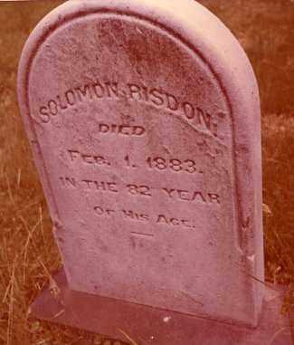 RISDON, SOLOMON - Jefferson County, Ohio   SOLOMON RISDON - Ohio Gravestone Photos