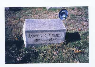 RUSSELL, JASPER RILEY - Jefferson County, Ohio   JASPER RILEY RUSSELL - Ohio Gravestone Photos