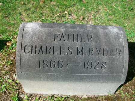 RYDER, CHARLES MELVIN - Jefferson County, Ohio | CHARLES MELVIN RYDER - Ohio Gravestone Photos