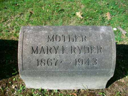 "RALSTON RYDER, MARY FRANCES ""MAME"" - Jefferson County, Ohio   MARY FRANCES ""MAME"" RALSTON RYDER - Ohio Gravestone Photos"