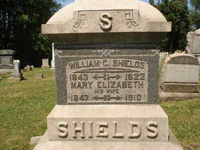 SHIELDS, WILLIAM C. - Jefferson County, Ohio | WILLIAM C. SHIELDS - Ohio Gravestone Photos