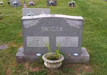 SWIGER, CLAIR KENNETH - Jefferson County, Ohio | CLAIR KENNETH SWIGER - Ohio Gravestone Photos