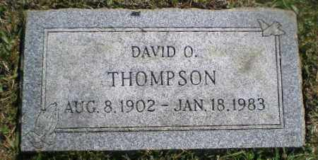 THOMPSON, DAVID O - Jefferson County, Ohio | DAVID O THOMPSON - Ohio Gravestone Photos