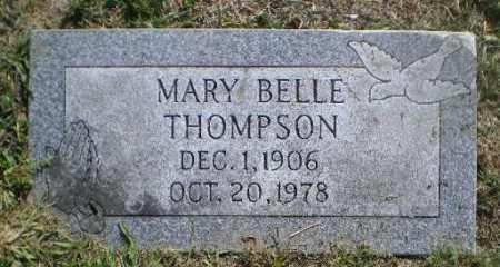 THOMPSON, MARY BELLE - Jefferson County, Ohio | MARY BELLE THOMPSON - Ohio Gravestone Photos