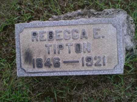 TIPTON, REBECCA E - Jefferson County, Ohio | REBECCA E TIPTON - Ohio Gravestone Photos
