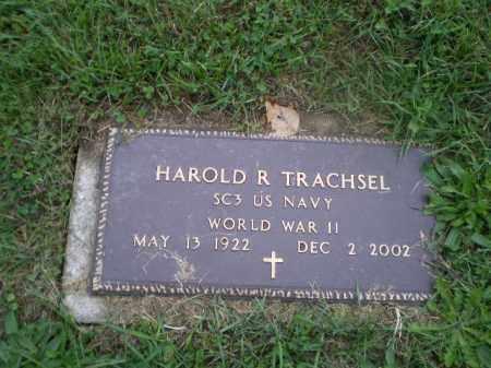 TRACHSEL, HAROLD R - Jefferson County, Ohio | HAROLD R TRACHSEL - Ohio Gravestone Photos