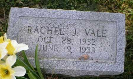 VALE, RACHEL J - Jefferson County, Ohio | RACHEL J VALE - Ohio Gravestone Photos