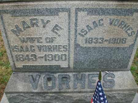 VORHES, MARY E - Jefferson County, Ohio | MARY E VORHES - Ohio Gravestone Photos