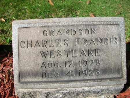 WESTLAKE, CHARLES FRANCIS - Jefferson County, Ohio   CHARLES FRANCIS WESTLAKE - Ohio Gravestone Photos