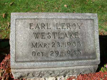 WESTLAKE, EARL LEROY - Jefferson County, Ohio | EARL LEROY WESTLAKE - Ohio Gravestone Photos