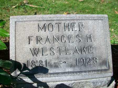 "KNOWLES WESTLAKE, FRANCES HARRIET ""FANNIE"" - Jefferson County, Ohio | FRANCES HARRIET ""FANNIE"" KNOWLES WESTLAKE - Ohio Gravestone Photos"