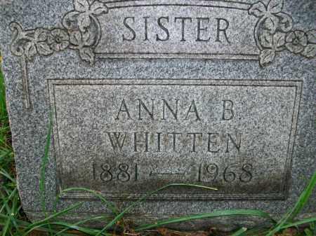 WHITTEN, ANNA BELLE - Jefferson County, Ohio   ANNA BELLE WHITTEN - Ohio Gravestone Photos