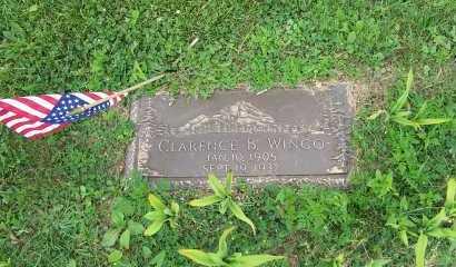 WINGO, CLARENCE BERNARD - Jefferson County, Ohio   CLARENCE BERNARD WINGO - Ohio Gravestone Photos