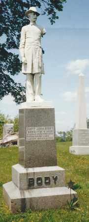 BODY, CAPT. JOHN - Knox County, Ohio | CAPT. JOHN BODY - Ohio Gravestone Photos