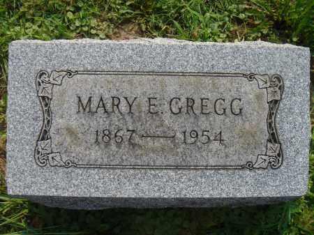GREGG, MARY E - Knox County, Ohio | MARY E GREGG - Ohio Gravestone Photos