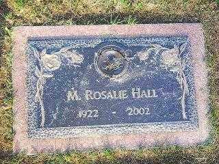 TEETER-FLETCHER HALL, ROSALIE - Knox County, Ohio   ROSALIE TEETER-FLETCHER HALL - Ohio Gravestone Photos