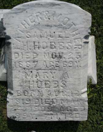 GORDON HOBBS, MARY ANN - Knox County, Ohio | MARY ANN GORDON HOBBS - Ohio Gravestone Photos