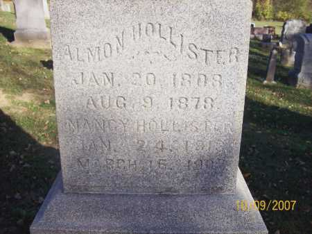 HOLLISTER, NANCY - Knox County, Ohio | NANCY HOLLISTER - Ohio Gravestone Photos