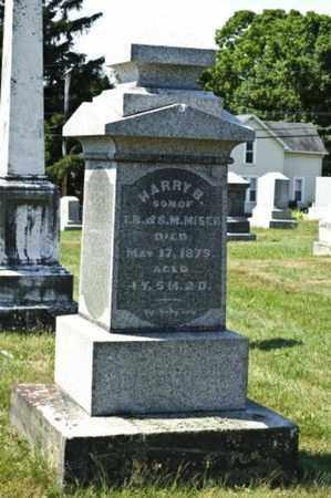 MISER, HARRY B. - Knox County, Ohio   HARRY B. MISER - Ohio Gravestone Photos