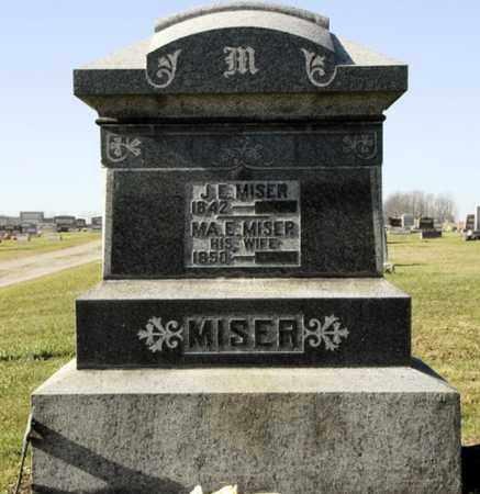 MISER, JOHN EDWARD - Knox County, Ohio | JOHN EDWARD MISER - Ohio Gravestone Photos
