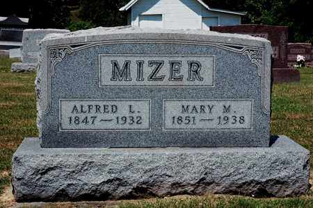 MIZER, MARY M. - Knox County, Ohio | MARY M. MIZER - Ohio Gravestone Photos