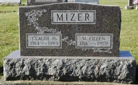 MIZER, M. EILEEN - Knox County, Ohio | M. EILEEN MIZER - Ohio Gravestone Photos