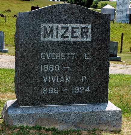 BILLMAN MIZER, VIVIAN P. - Knox County, Ohio | VIVIAN P. BILLMAN MIZER - Ohio Gravestone Photos