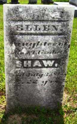 SHAW, ELLEN - Knox County, Ohio | ELLEN SHAW - Ohio Gravestone Photos