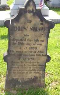 SHAW, JOHN - Knox County, Ohio | JOHN SHAW - Ohio Gravestone Photos
