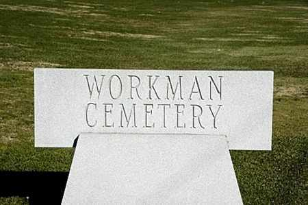 WORKMAN, CEMETERY - Knox County, Ohio | CEMETERY WORKMAN - Ohio Gravestone Photos