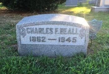 BEALL, CHARLES E. - Lake County, Ohio | CHARLES E. BEALL - Ohio Gravestone Photos