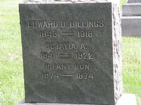 BILLINGS, INFANT SON - Lake County, Ohio | INFANT SON BILLINGS - Ohio Gravestone Photos