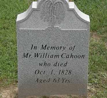 CAHOON, WILLIAM - Lake County, Ohio | WILLIAM CAHOON - Ohio Gravestone Photos